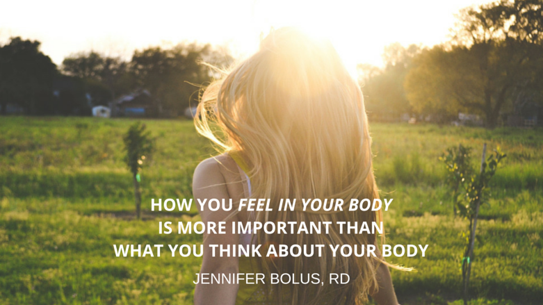 BLOG POST HOW YOU FEEL IN YOUR BODY IS MORE