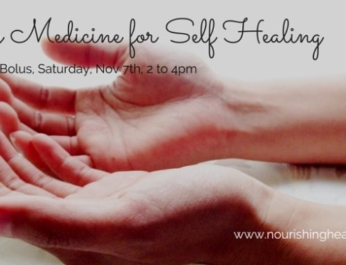 Energy Medicine for Self-Healing Saturday November 7, 2015